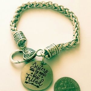 Jewelry - Sister makes perfect best friends love Bracelet